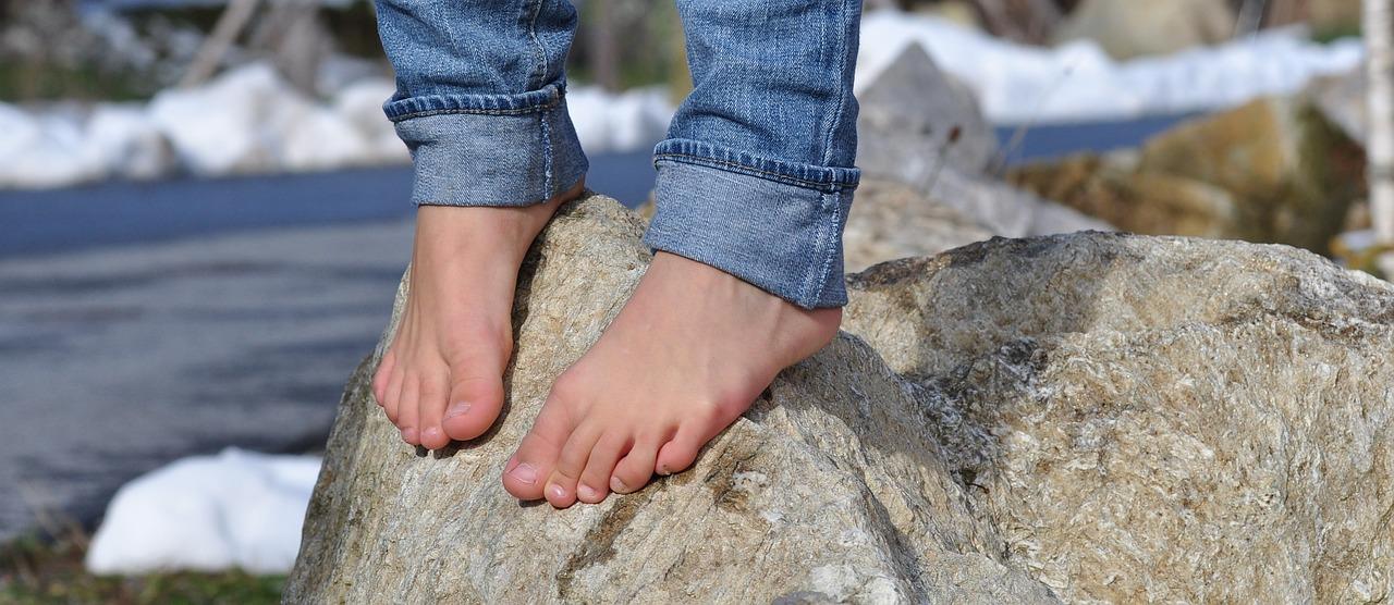 blog dangers walking barefoot